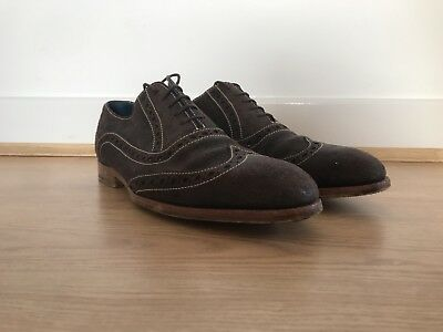 Barker Creative Collection Suede Brogues Size 9 F