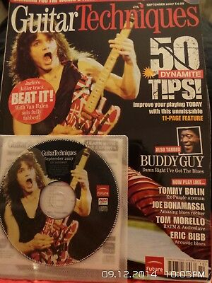 Guitar Techniques with CD featuring Van Halen and Joe Satriani