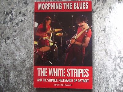 The White Stripes 'Morphing the blues' Book.by Martin Roach.Jack White.Not Lp,Cd