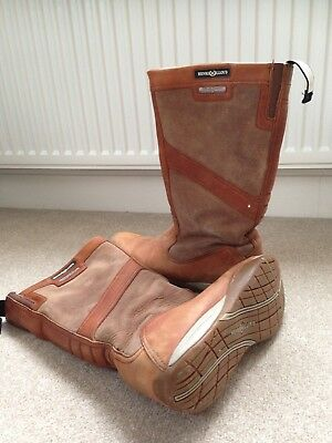 Henri Lloyd Yachting Ocean Extreme Leather Boots (uk9)