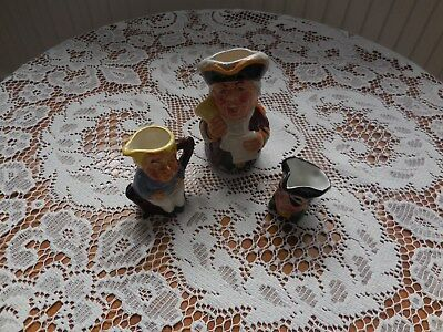 Royal Doulton Toby Jug and 2 others