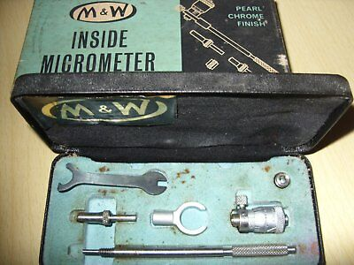 """Inside Micrometer   Moore And Wright  1""""--2"""""""