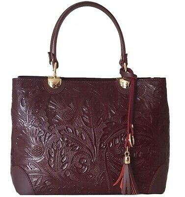 Borsa a mano in vera pelle Bottega Carele 9 colori made in Italy BC143
