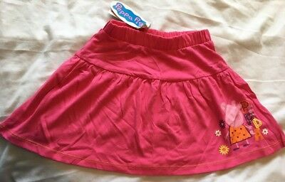 Girls Age 3-4 Years Peppa Pig Skirt New With Tags NWT Tesco