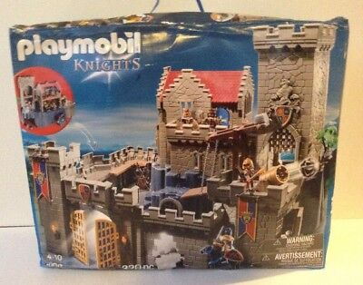 Playmobil 6000 Royal Lion Knight`s Castle - New Free Shipping Damaged Box