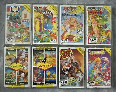 Codemasters bundle for ZX Spectrum (CJ, Slightly Magic, Tarzan Goes Ape, + more)