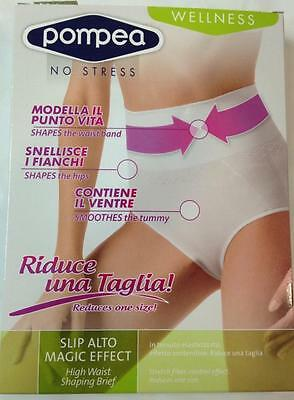 Slip Guaina Donna Vita Alta Modellante Magic Effect Pompea Panciera Snellente