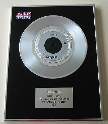 "BLONDIE Dreaming PLATINUM 7"" Single DISC Presentation"