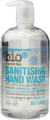Bio-D Sanitising Hand Wash Lime/Aloe 500ml