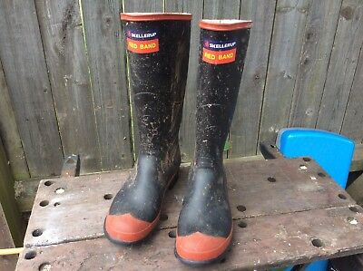 Mens Skellerup Rubber Wellingtons