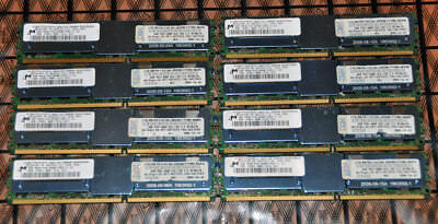 IBM Micron 32GB (8x4GB) FBDIMM DDR2 4Rx8 PC2-6400F 800MHz Memory Server RAM