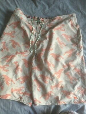 TED BAKER Men's SWIMMING BOARD SURF Beach SHORTS XL