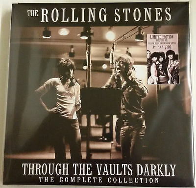 Rolling Stones Through The Vaults Darkly-The Complete Collection Caja 11LP color