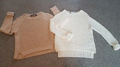 Girls Newlook Jumpers x2  age 10/11 years
