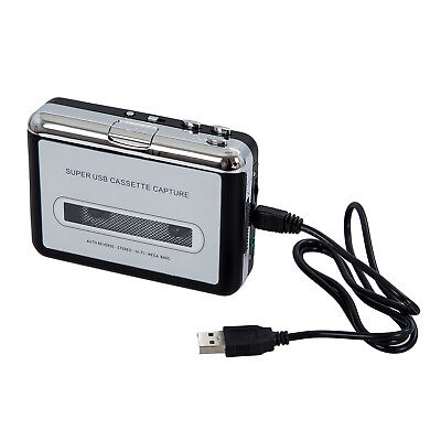 10X(USB Portable Handheld Super Tape to PC USB Cassette-to-MP3 Converter ET