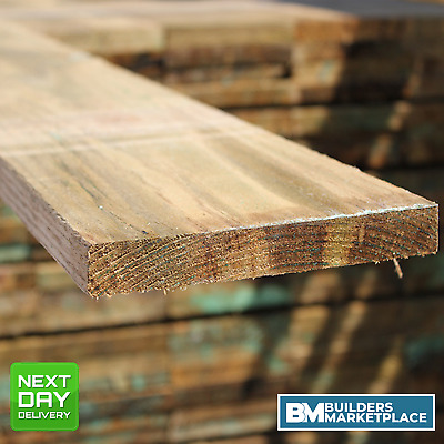 Treated Timber 4x1 Tanalised Pressure Treated Timber C16 C24 22mm x 100mm Timber