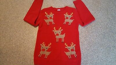 Girls CHRISTMAS Jumper  age 10/11 years