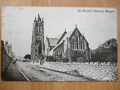 St David's Church Bangor Wales 1915