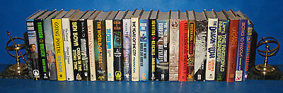 25 Science Fiction / Fantasy Book Lot In HCs g