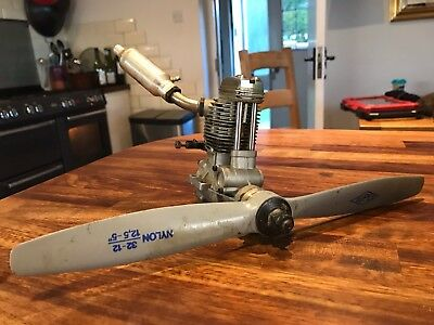 OS 70 FS Surpass model aircraft four stroke engine with prop