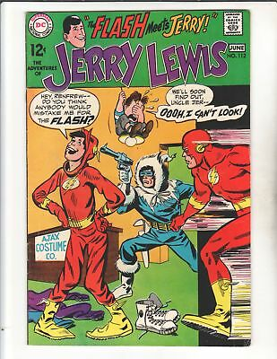 JERRY LEWIS #112 1969 Very Rare FLASH XOver Capt Cold & More!