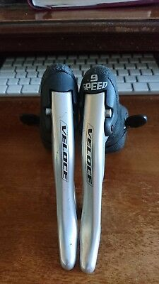 Campagnolo Veloce 9 speed Shifters