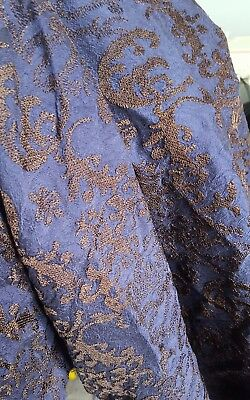 Jack Sparrow OST DMTNT Zimmer Rohdes Embroidered Silk Fabric