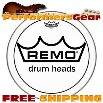 "Remo PS-0318-00 18"" Pinstripe Clear Bass Drum Head"