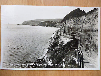 The Shore And Cliff Path At Lake Isle Of Wight 1955