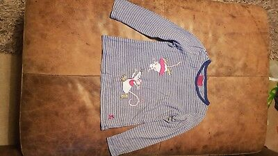 girls 3-4 joules long sleeved top