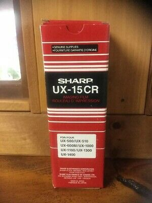 Sharp UX-15CR Imaging Film OEM Genuine New in Box # 074000031685 UX15CR