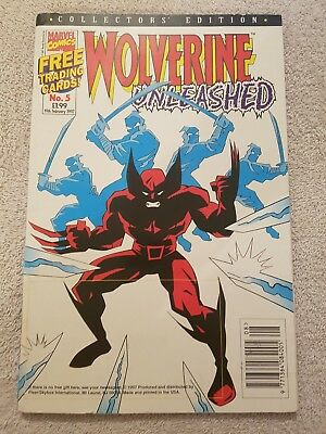 Marvel Comics No 5 Wolverine Unleashed 19th February 1997  Collectors Edition