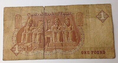 Central Bank of Egypt - One Pound / £1 Note - Banknote / Paper Money