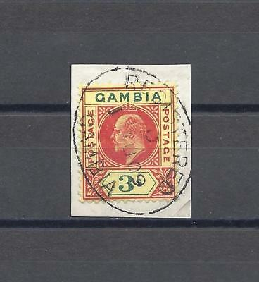 GAMBIA 1902-05 SG 56 USED Cat £70
