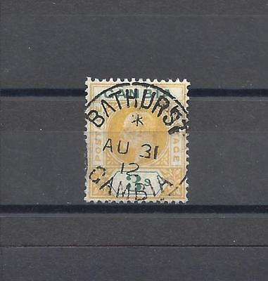 GAMBIA 1912-22 SG 102 USED Cat £200