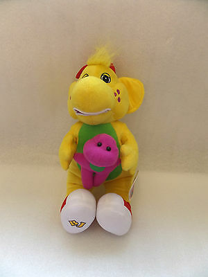 "Official Brand New 14"" Bj Plush Soft Toy Friend Of Barney And Baby Bop"