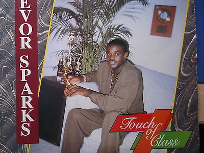 "Trevor Sparks A Touch of Class/Blue Trac Records /12"" vinyl LP/"