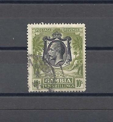 GAMBIA 1922 SG 142 USED Cat £150