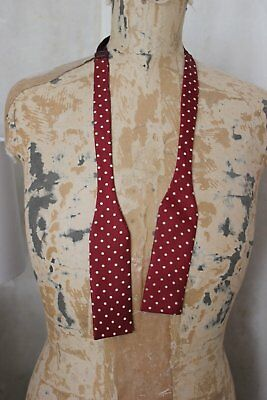 Men's vintage silk Akco adjustable bow tie