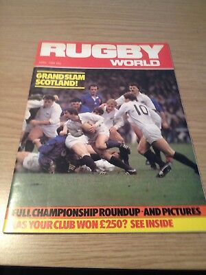 Rugby World Magazine April 1984
