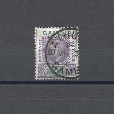 GAMBIA 1902-05 SG 52 USED Cat £90