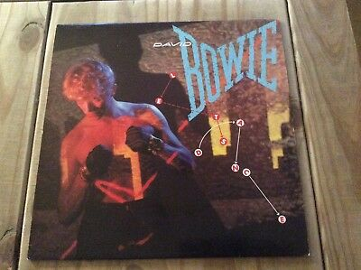 David Bowie - Let's Dance 1983 Vinyl Lp With Lyric Inner Ex!!