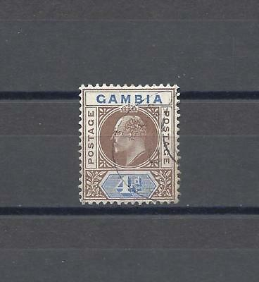 GAMBIA 1904-06 SG 62 USED Cat £48