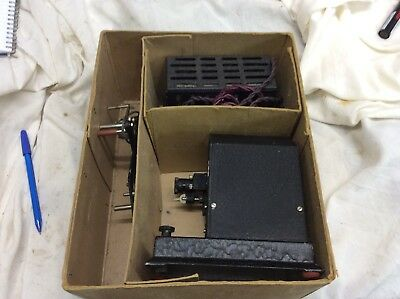 Cine film projector BINGOSCOPE Ellar 9.5mm + transformer+box