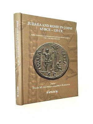 Jacobson & Kokkinos: Judaea and Rome in Coins 65 BCE - 135 CE, fore-edge bumped