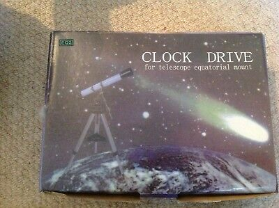 Clock Drive For EQ2 Telescope - Fits Skywatcher