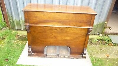 small antique organ