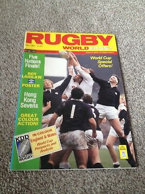 Rugby World & Post Magazine May 1987