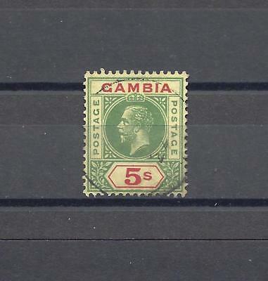 GAMBIA 1912-21 SG 102 USED Cat £200