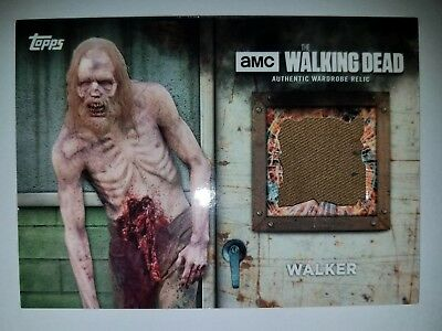 Topps The Walking Dead Season 6 Walker Screen-Worn Costume Relic